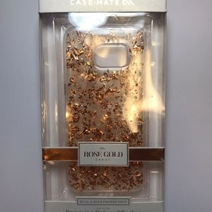 Accessories - Case Mate Karat Rose Samsung S7 Edge new in box